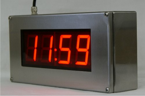 NTP CLOCK NTP CLOCK IP66 RVS food-industry