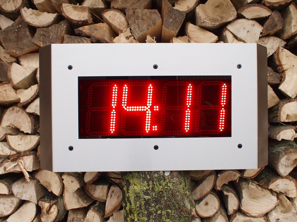 NTP CLOCK NTP CLOCK IP66 RVS Outdoor